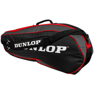 NEW Dunlop Performance 3 Racquet Bag (Red/Black)