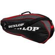 Dunlop Performance 3 Racquet Bag (Red/Black)