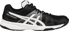 NEW Asics Gel Upcourt Women's Shoe (Black/White/Silver)