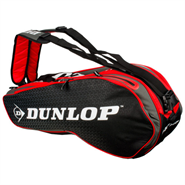 NEW Dunlop Performance 8 Racquet Bag (Red/Black)