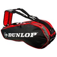 NEW Dunlop Performance 8 Racquet Bag (Red/Black)