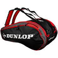 NEW Dunlop Performance 12 Racquet Bag (Red/Black)