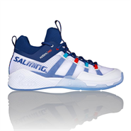 NEW Salming Kobra Mid 2 Men's Shoe (White/Blue)