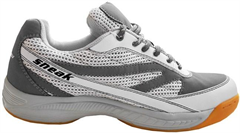 Harrow Sneak Indoor Court Shoe (White/Grey)