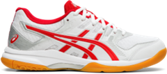 Asics Gel Rocket 9 Women's Shoe (White/Classic Red)