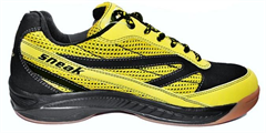 Harrow Sneak Indoor Court Shoe (Black/Yellow)
