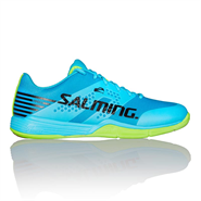 NEW Salming Viper 5 Men's Shoe (Blue Atol/Green)
