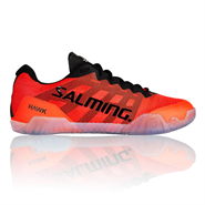 NEW Salming Hawk Men's Shoe (Black/Lava Red)