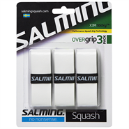 Salming X3M Sticky Overgrips (White) 3 Pack