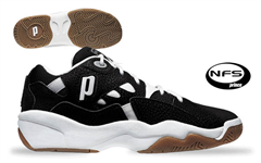 Prince NFS Indoor II Shoe (Black/White)