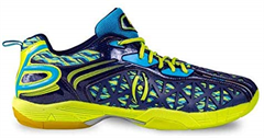 Harrow Typhoon Indoor Court Shoe (Navy/Lime/Blue)