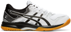 Asics Gel Rocket 9 Women's Shoe (White/Black)
