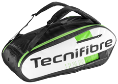 NEW Tecnifibre Squash Green 9R Bag