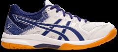 Asics Gel Rocket 9 Women's Shoe (White/Dive Blue)