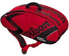 Wilson Pro Tour 6 Pak Squash Bag