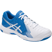 NEW Gel Game 6 Men's Shoe (White/Director Blue/Silver)