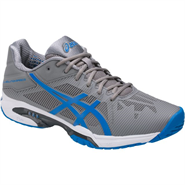 Asics Gel-Solution Speed 3 Men's Shoe (Aluminum/Electric Blue/White)