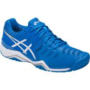 NEW Asics Gel-Resolution 7 Men's Shoe (Director Blue/Silver/White)