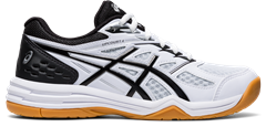 Asics Gel Upcourt 4 GS Junior Shoe (White/Black)