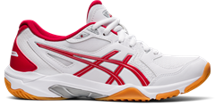 Asics Gel Rocket 10 Women's Shoe (White/Classic Red)