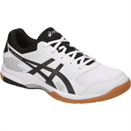 NEW Asics Gel Rocket 8 Men's Shoe (White/Black/Silver)