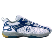 Harrow Typhoon Men's Indoor Court Shoe (White/Blue)