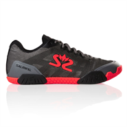 Salming Hawk Men's Shoe (GunMetal/Lava Red)