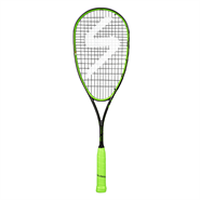 NEW Salming Fusione PowerLite Squash Racquet (Black/Lime)