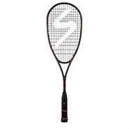 NEW Salming Fusione Feather Squash Racquet (Black/Orange)