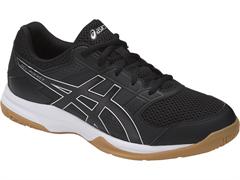 NEW Asics Gel Rocket 8 Men's Shoe (Black/Black/White)