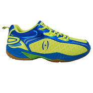 NEW Harrow Vortex Men's Indoor Court Shoe (Green/Blue)