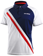 Salming Performance Polo (Navy/White)