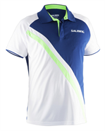 Salming Performance Polo (Navy/Gecko Green)