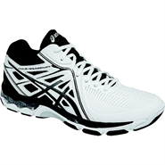 Asics Gel-Netburner Ballistic MT Men's Shoe (White/Black/Silver)