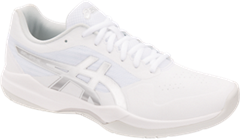 Asics Gel Game 7 Men's Tennis Shoe (White/Silver)