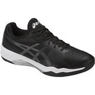 NEW Asics Volley Elite FF Women's Shoe (Black/Dark Grey/White)