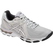 NEW Asics Gel-Netburner Ballistic Women's Shoe (Glacier Grey/Silver/Dark Grey)