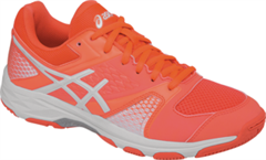 NEW Asics Gel Domain 4 Women's Shoe (Flash Coral/White/White)
