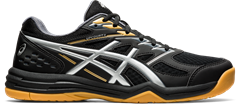 Asics Gel Upcourt 4 Men's Shoe (Black/Pure Silver)