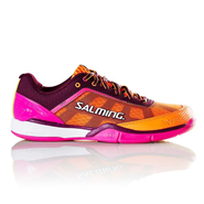 NEW Salming Viper 4 Women's Shoe (Purple/Orange)