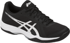 Asics Gel Tactic 2 Women's Shoe (Black/Silver/White)