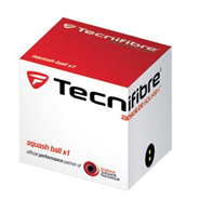 Tecnifibre Double Yellow Dot Squash Ball