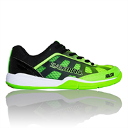 NEW Salming Falco Junior Shoe (Green/Black)