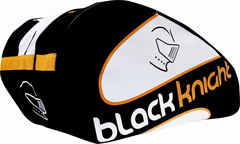 Black Knight Triple Gear Bag (Black/Orange/White)