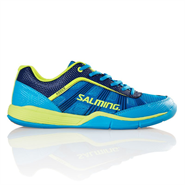NEW Salming Adder Men's Shoe (Cyan/Safety Yellow)