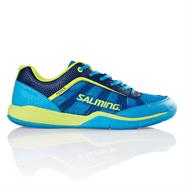 NEW Salming Adder Men's Shoe (Cyan/Safety Yellow)