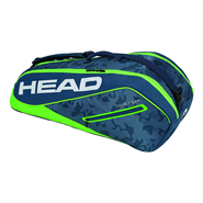 Head Tour Team 6R Combi Bag (Navy/Green)