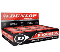 Dozen Dunlop Progress Squash Balls