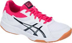NEW Asics Gel Upcourt 3 Women's Shoe White/Pixel Pink