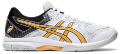 Asics Gel Rocket 9 Men's Shoe (White/Pure Gold)